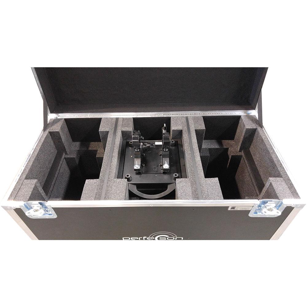 Coffre pour (3) CHAUVET ROGUE R2 MOVING LIGHT