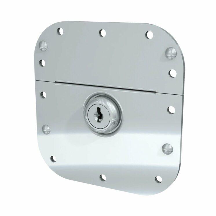 Loquet encastré verrouillable à clé | Code : 001-480800